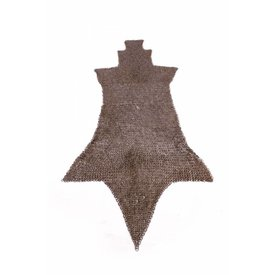 Ulfberth Chain mail chausses, fladskærms ringe kile nitter, 8 mm