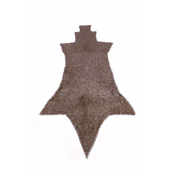 Ulfberth Maliënchausses, platte ringen-wigvormige klinknagels, 8 mm