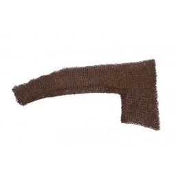 Para osłony kolcze na ramiona mieszane płaskie Pierścienie - nity klinowe 8 mm