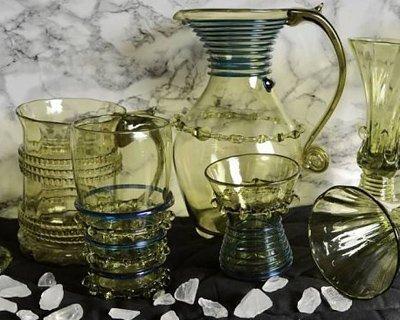 Medeltida och tidigt modern glas
