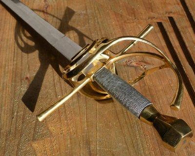 Replica rapir halvskärpa och  battle-ready