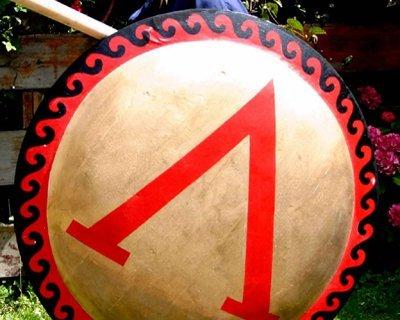 Griechische, römische und keltische Schilde