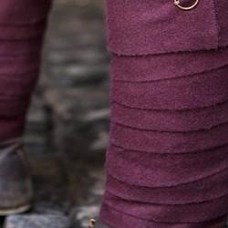Pantaloni, fasce per gambe e brache