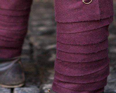Bukser, benindpakning og chausses