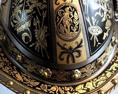 Morjoner och burgonets baserat på museets originaler