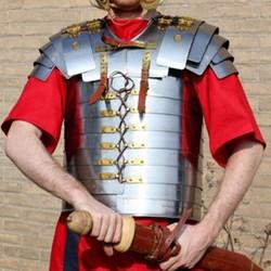 Romersk och grekisk platta rustning