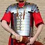 romersk gladiator rustning