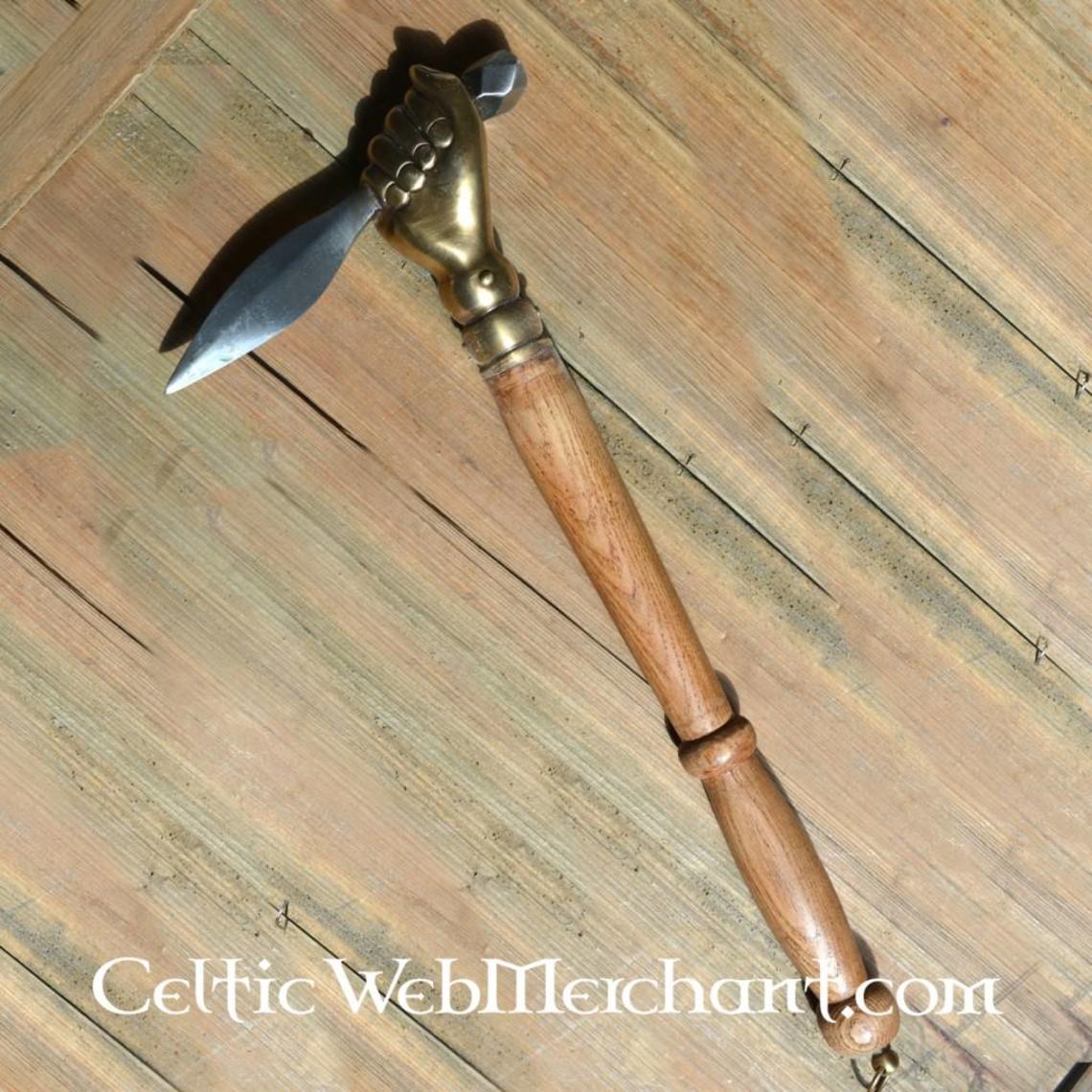 Deepeeka siglo 16 el martillo de guerra alemana