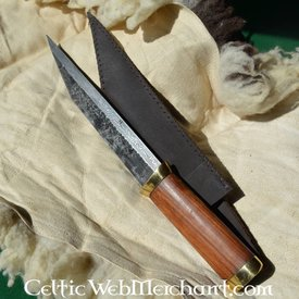 Ulfberth Germanic short seax of Damascus steel