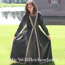 Kleid Borgia grün