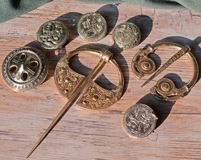 Broszki Viking, germańskie i irlandzkie