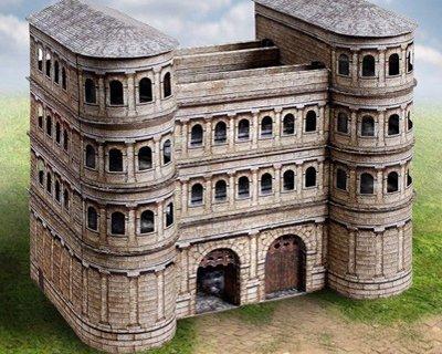 Edifici in miniatura