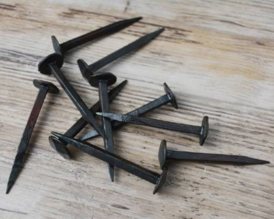 Rivets, nails, handles & chest fittings
