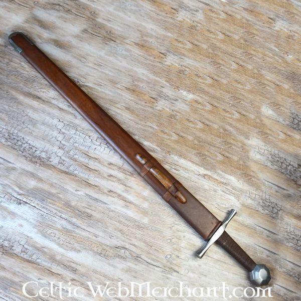 Deepeeka Épée à une main anglaise, XIIIe siècle, prête au combat