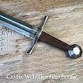 Deepeeka Espada inglesa de una mano, siglo XIII, lista para la batalla.