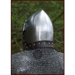 Kołnierz kolczy, mieszane płaskie nity Pierścienie klin 8 mm