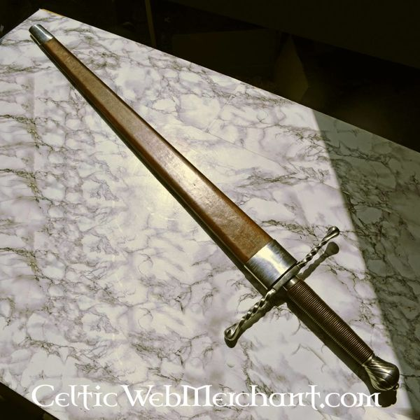 Deepeeka Espada de mano y media Oakeshott tipo XVa, battle-ready