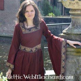 Klänning Anne Boleyn röd