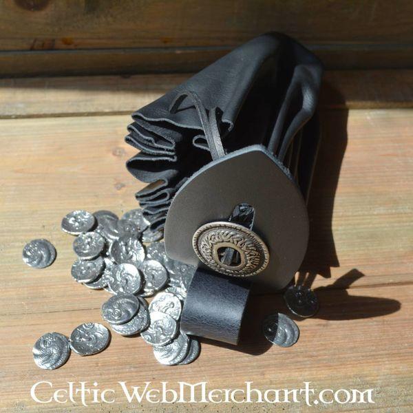Medieval pieniądze torebka, duża
