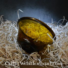 Merovingiano ambra di tazza di palma