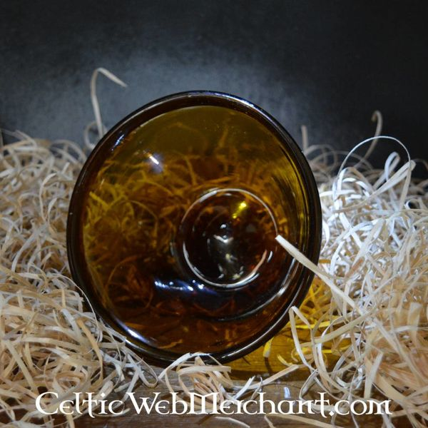Merowinger palm cup amber