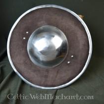 Ulfberth Bouclier recouvert de cuir S