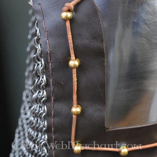 Ulfberth 14 wieku przyłbica z chainmail kołnierz kolczy