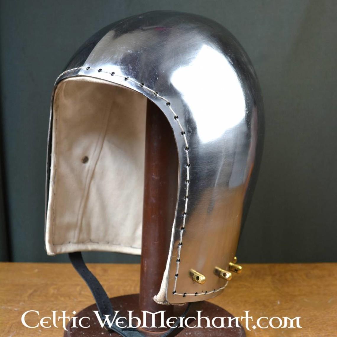 Ulfberth Listos para la batalla bascinet siglo 14