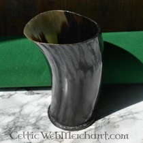 Lord of Battles Hand painted drinking horn