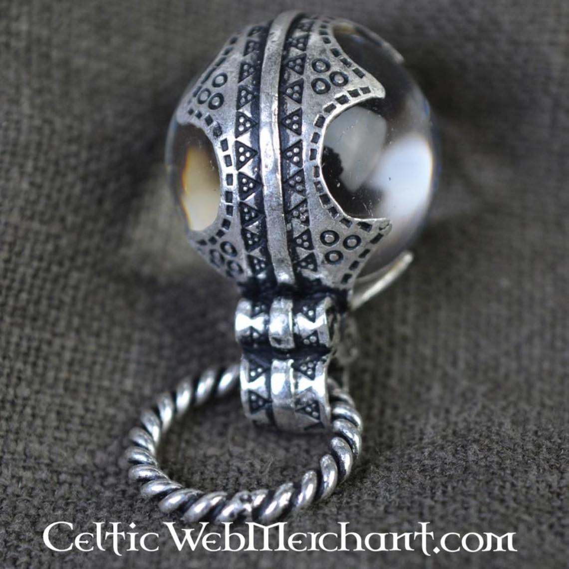 Gotland Viking crystal S, silvered