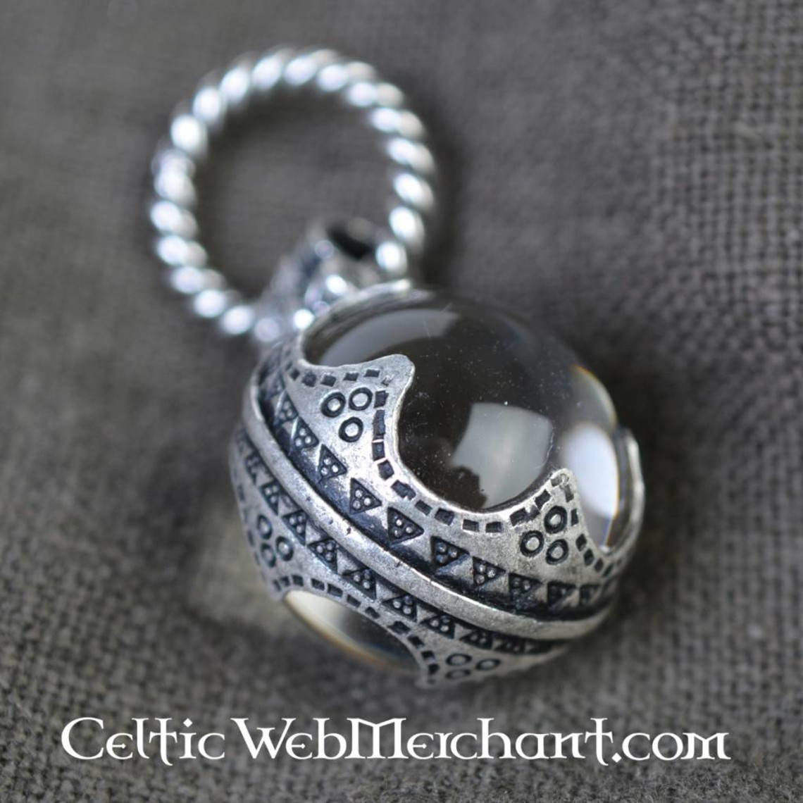 Gotland Viking crystal S, argenté