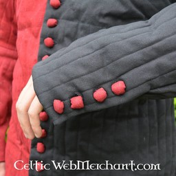 Late 14th century Mi parti gambeson