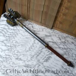 König Keule, Schaum Waffe