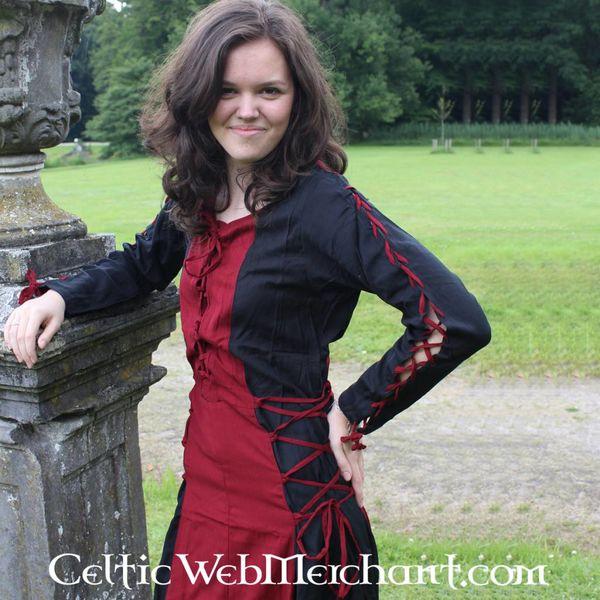 Klänning Fea black-red