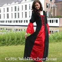 Klänning LI Ban röd-svart