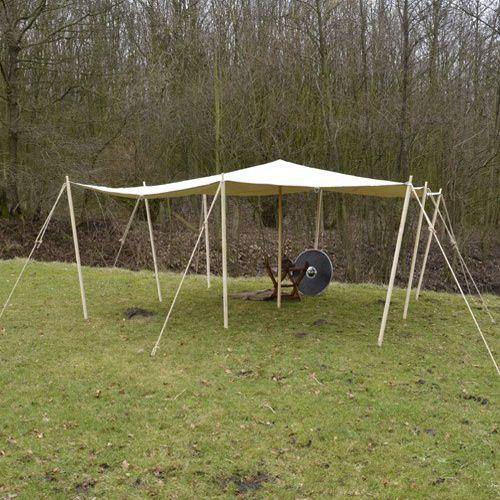 Tarpaulin 4 x 4 m 350 g / m²