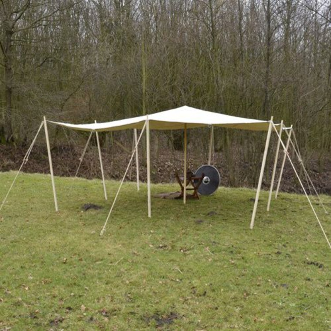 Abdeckplane 3 x 5 m 350 g / m²