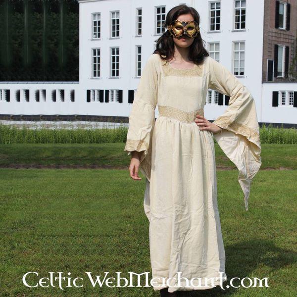 Klänning Anne Boleyn vit