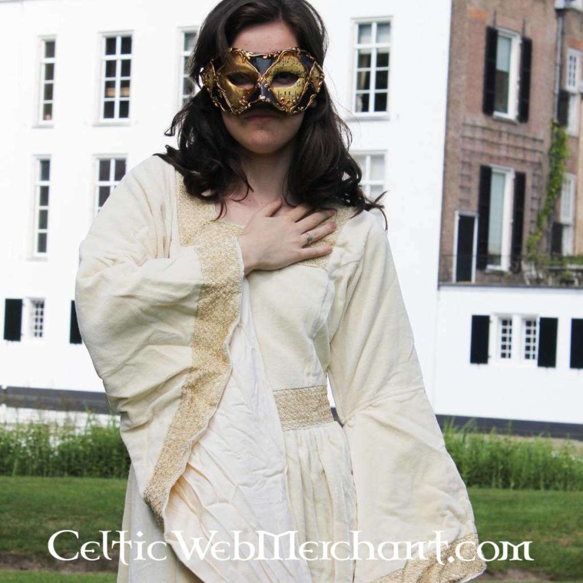 Leonardo Carbone Vestido Anna Boleyn blanco