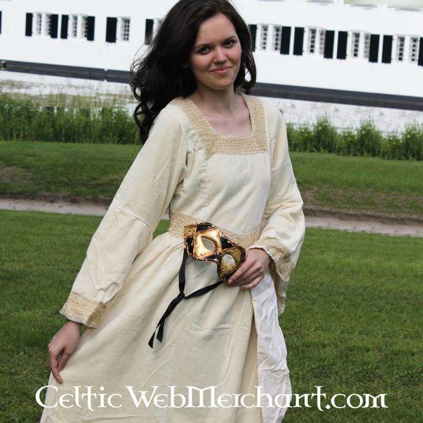 Vestido Anna Boleyn blanco