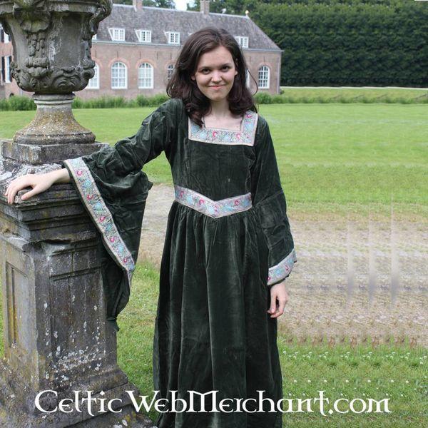 Jurk Anna Boleyn groen