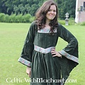 Leonardo Carbone Vestido Anna Boleyn verde