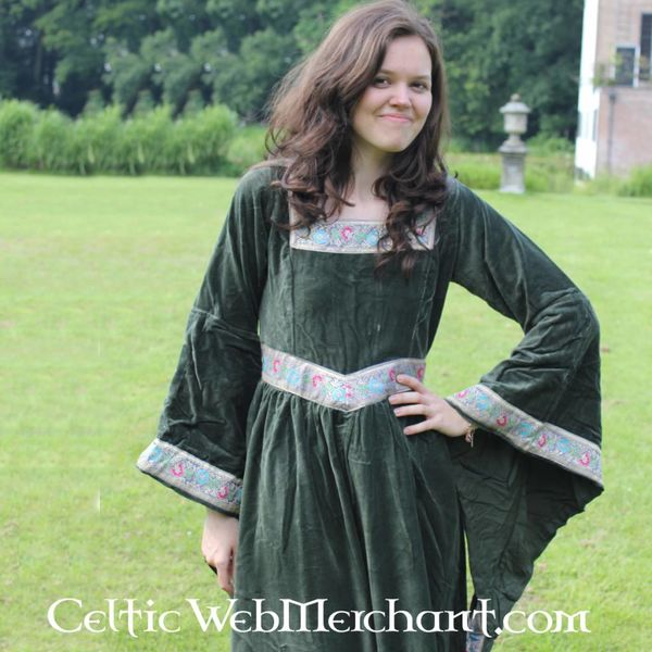 Leonardo Carbone Klæd Anne Boleyn grøn