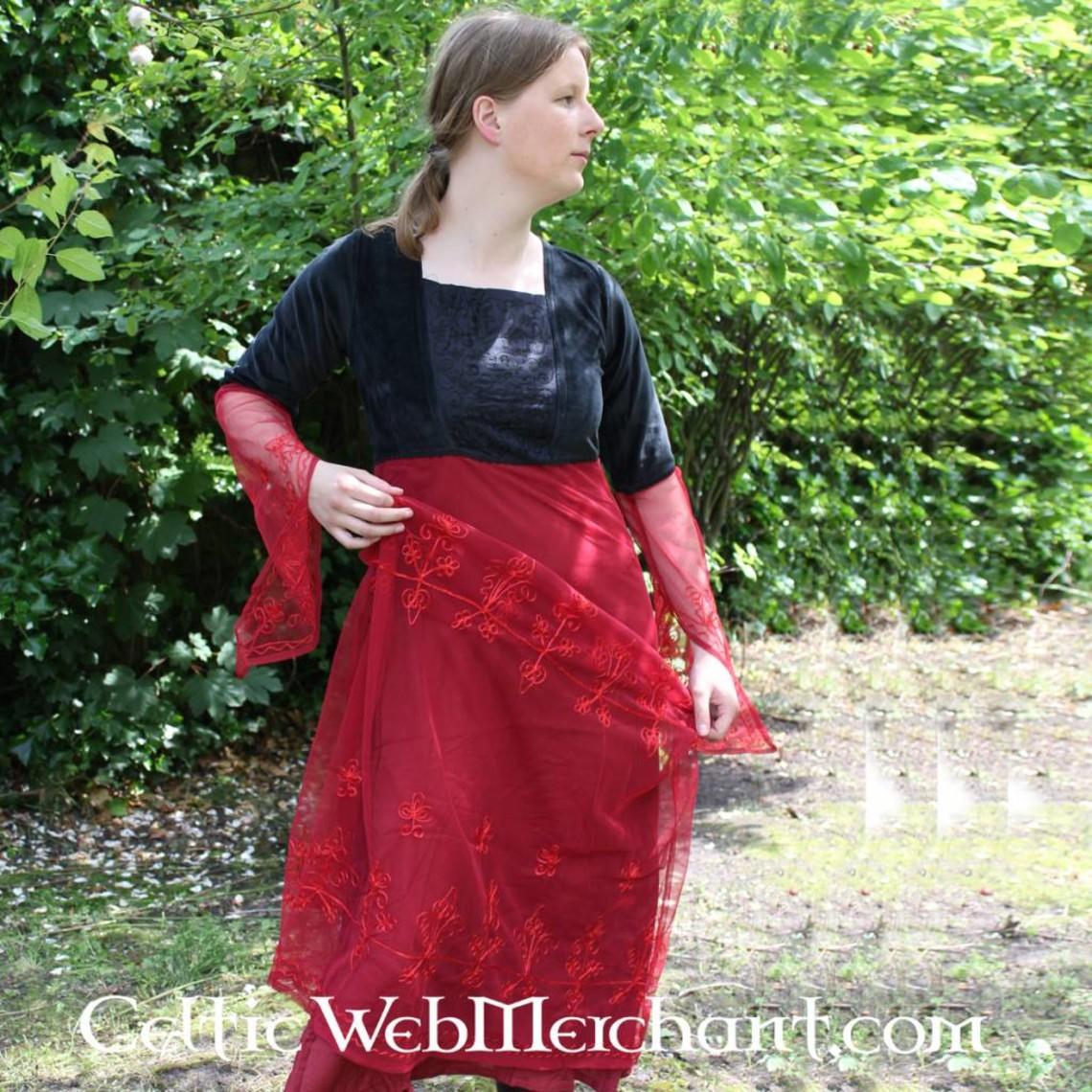 Leonardo Carbone Vestido Isobel rojo