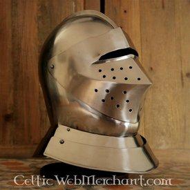 Deepeeka Tudor cerrado casco de torneo