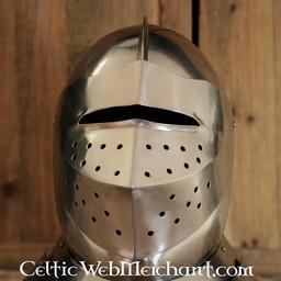 Tudor geschlossen Turnierhelm
