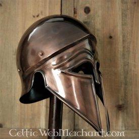 Deepeeka capacete Corinthic-Itálico bronzeado