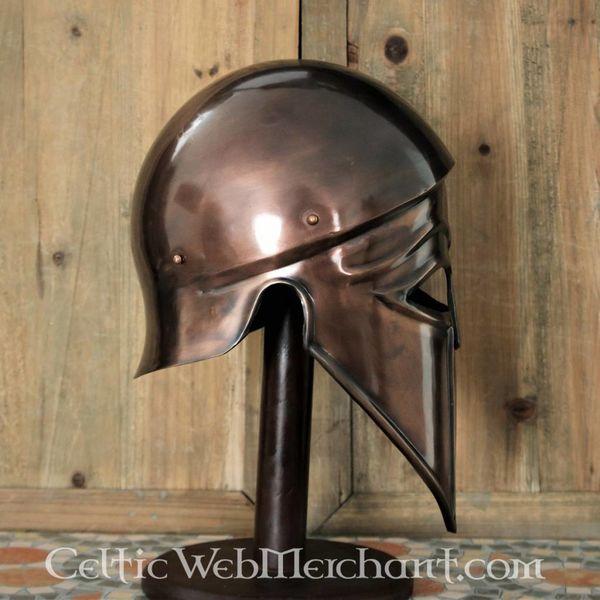 Deepeeka Corinthische-Italische helm gebronsd