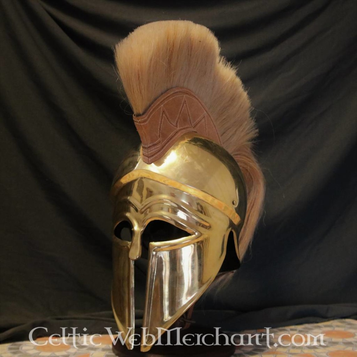 Deepeeka Corinthian helmet with crest