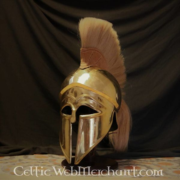 Deepeeka Corinthische helm met helmkam